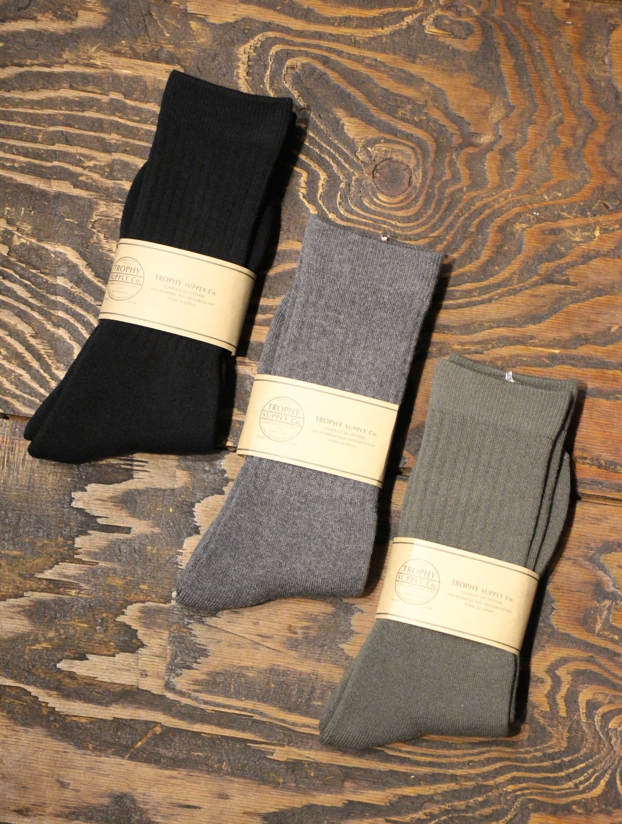 TROPHY CLOTHING  「Regular Boots Socks 」 ブーツソックス