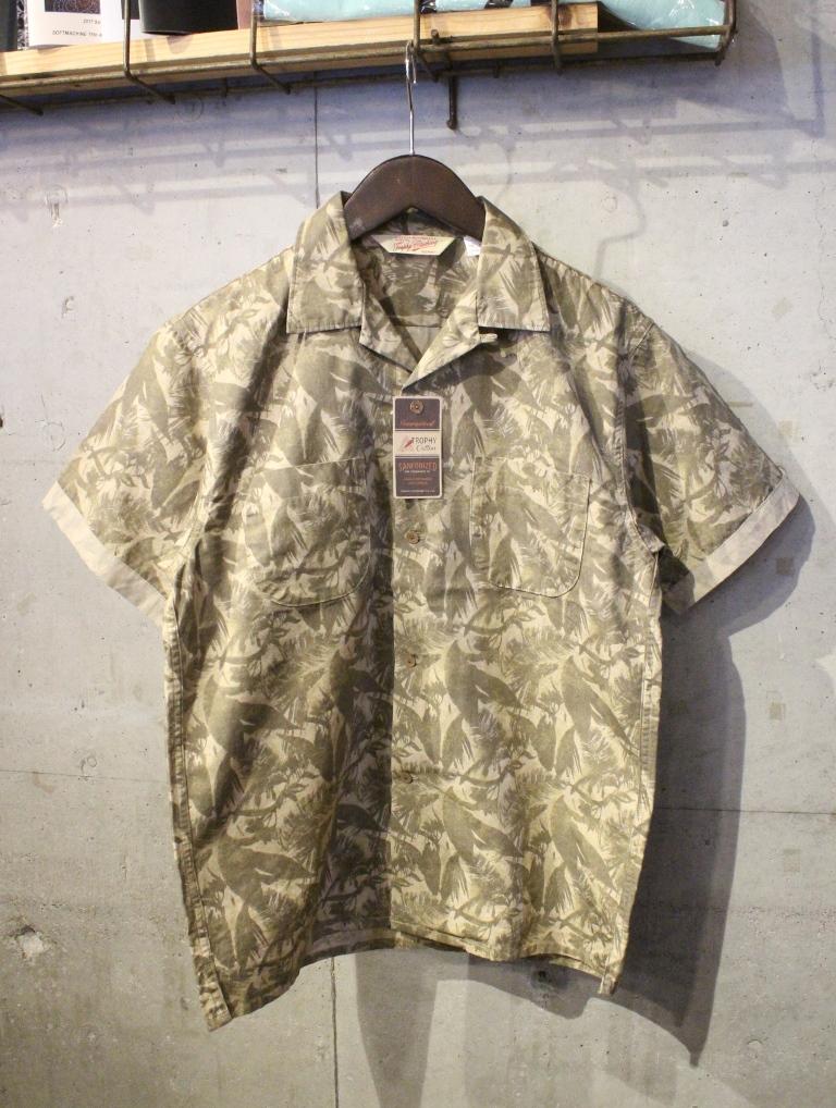 TROPHY CLOTHING   「Sun Rise Leaf Shirts」 アロハシャツ