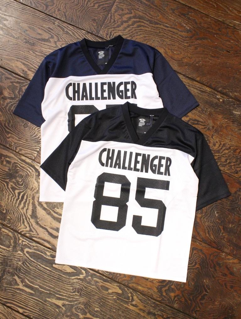 CHALLENGER  「LOGO PRINTED MESH TEE」 フットボールゲームシャツ