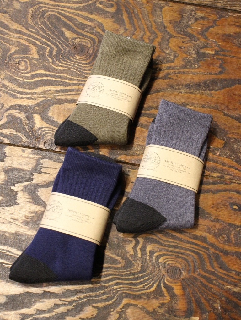 TROPHY CLOTHING  「Regular Boots Socks 」 ブーツソックス