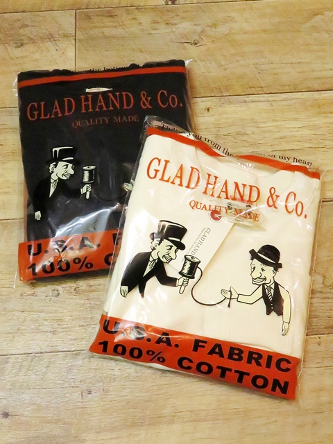 GLAD HAND  「GLAD HAND THICK L/S T-SHIRTS」  クルーネックロンティー
