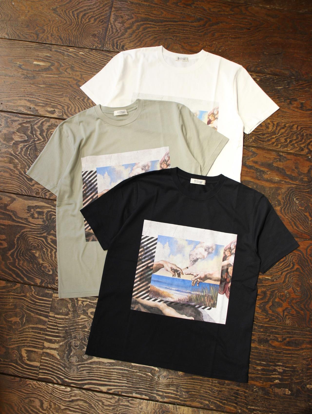 RADIALL    「HEAVEN'S DOOR - CREW NECK T-SHIRT S/S」 プリントティーシャツ