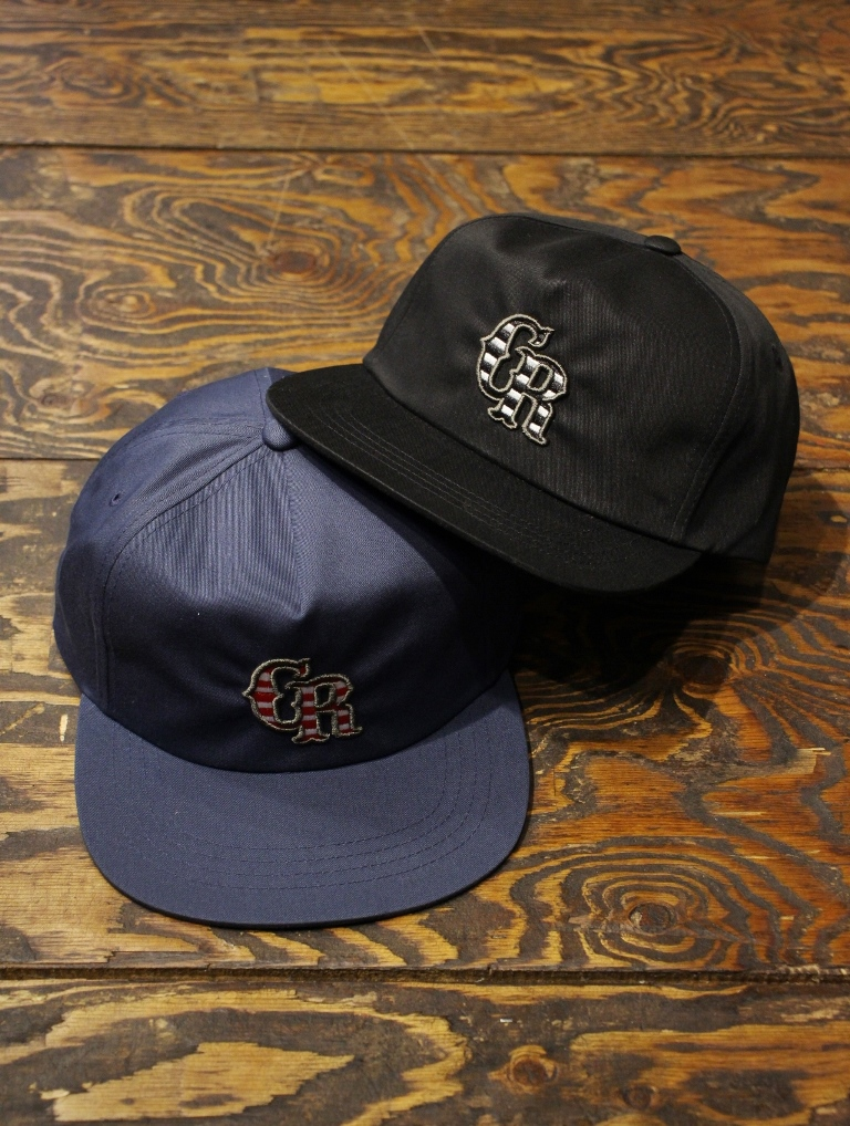 CUT RATE  「CR LOGO EMBROIDERY CAP」 T/Cツイルキャップ