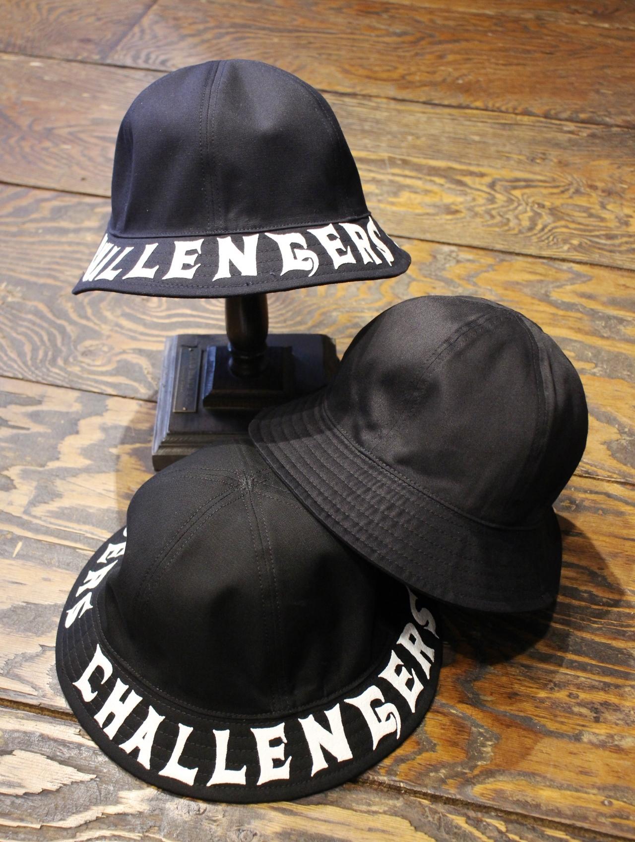 CHALLENGER   「 LOGO PRINT HAT 」 リバーシブルハット