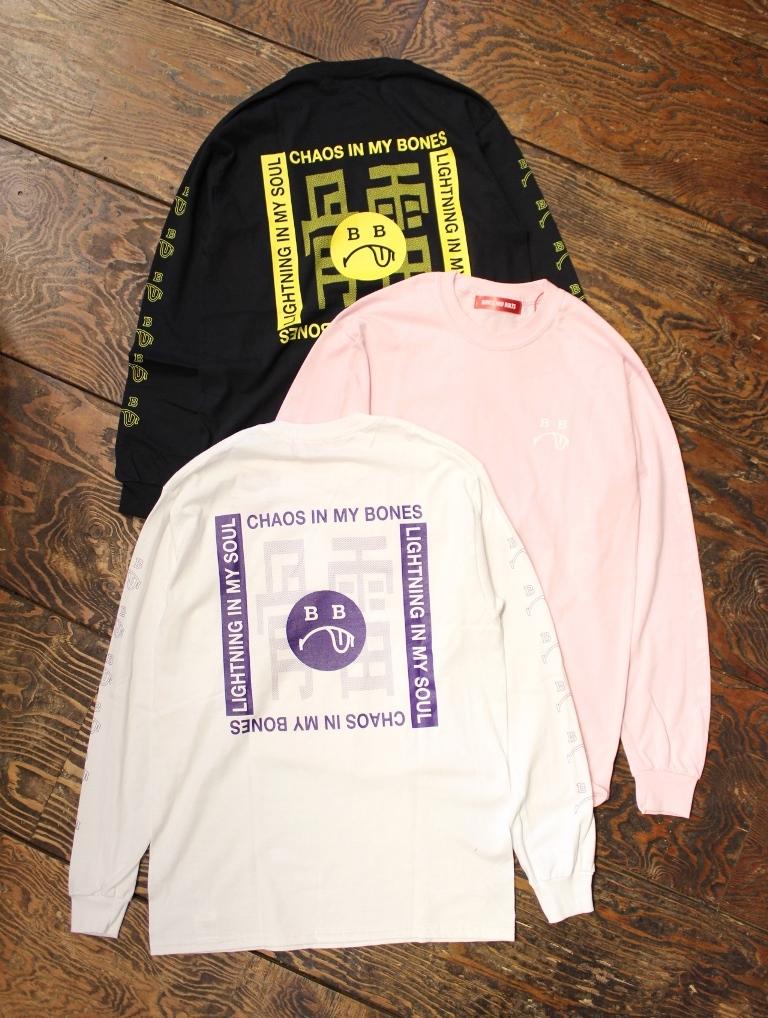 BONES & BOLTS  「L/S TEE  (BERO)」 ロングスリーブティーシャツ
