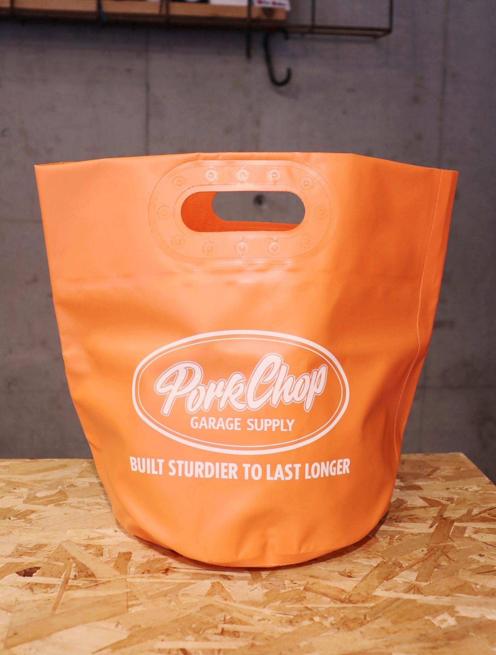 【7月17日 12時~発売開始!】   PORKCHOP GARAGE SUPPLY   「FOLDING BUCKET」  フォールディングバケット