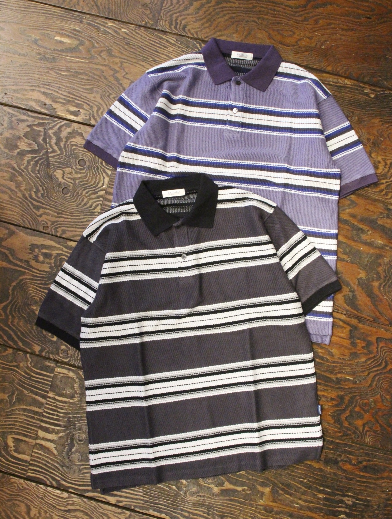 RADIALL    「CISCO - POLO SHIRT S/S」 メキシカンボーダーポロシャツ