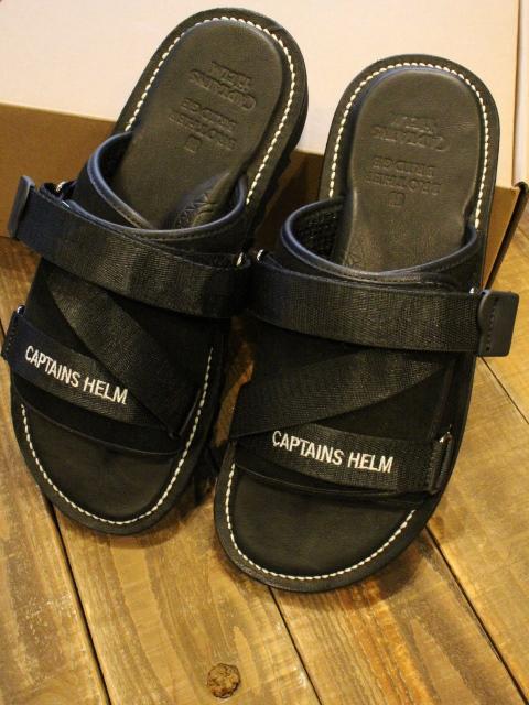 BROTHER BRIDGE x CAPTAINS HELM 「#SHARK SOLE MILITARY SANDAL」 サンダル