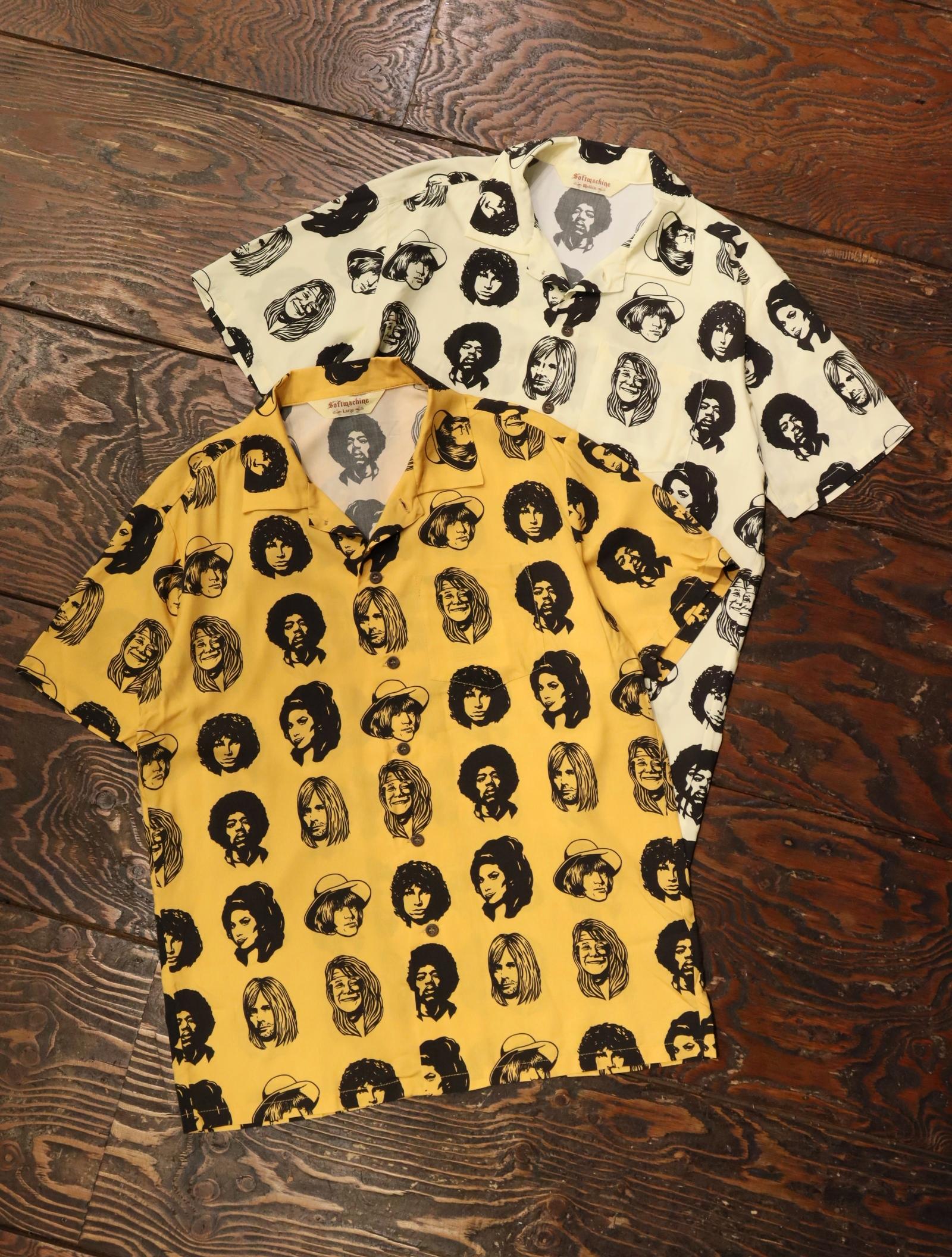 SOFTMACHINE  「TWENTY SEVEN SHIRTS S/S」 オープンカラーシャツ