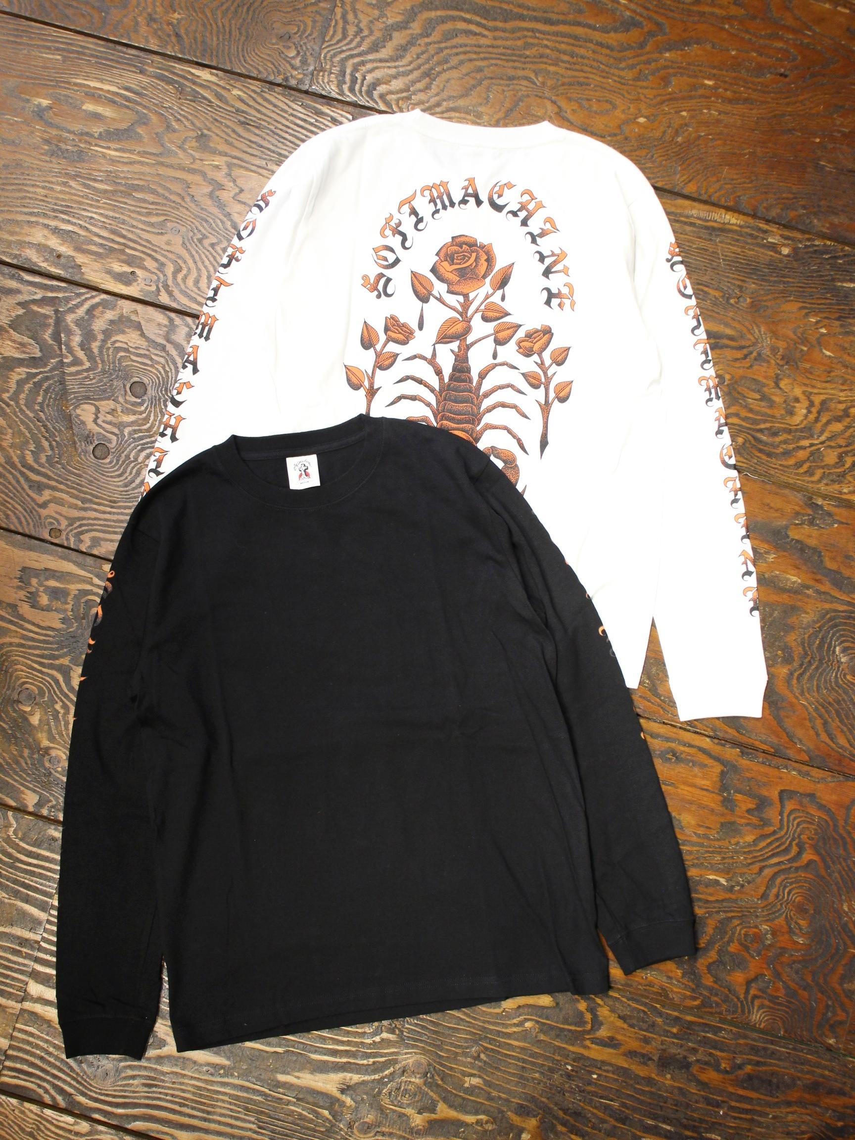 SOFTMACHINE  「POISON L/S」 ロングスリーブプリントティーシャツ