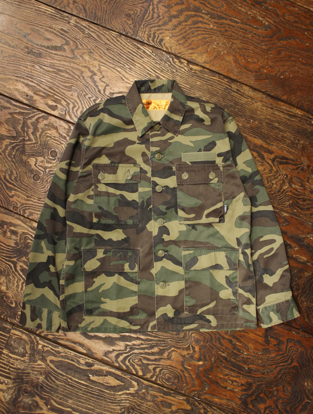 CHALLENGER   「CAMOUFLAGE REFLECTED SHIRT」 ミリタリーシャツ