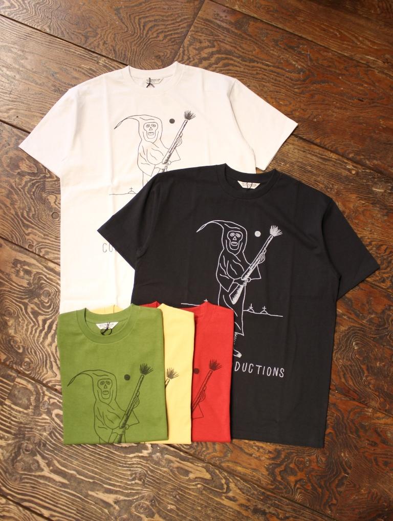 COOTIE  「 Print S/S Tee (REAPER) 」 プリントティーシャツ