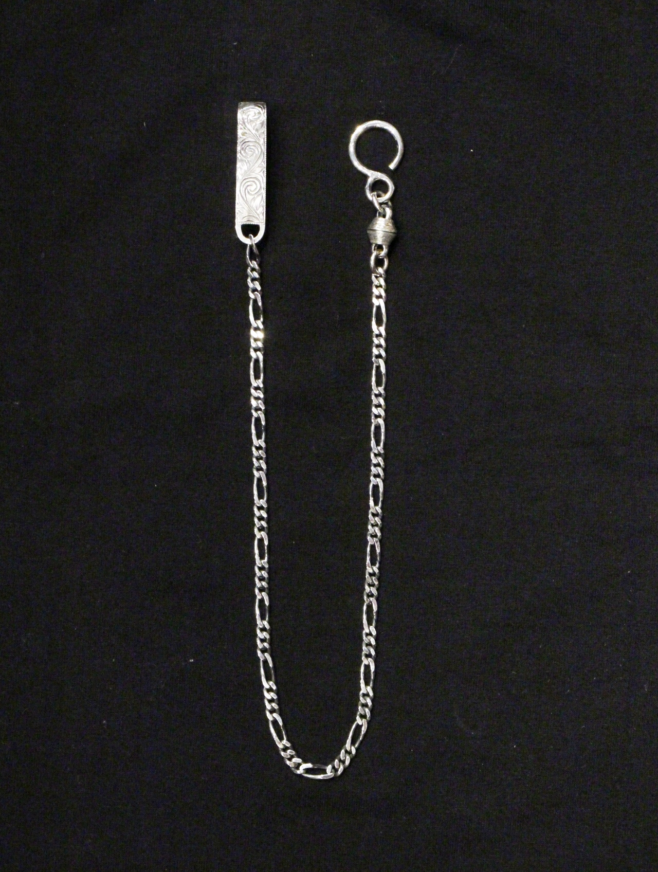 ANTIDOTE BUYERS CLUB by Cootie Productions  「Engraved Narrow Wallet Chain (Short)」 SILVER950製 ウォレットチェーン