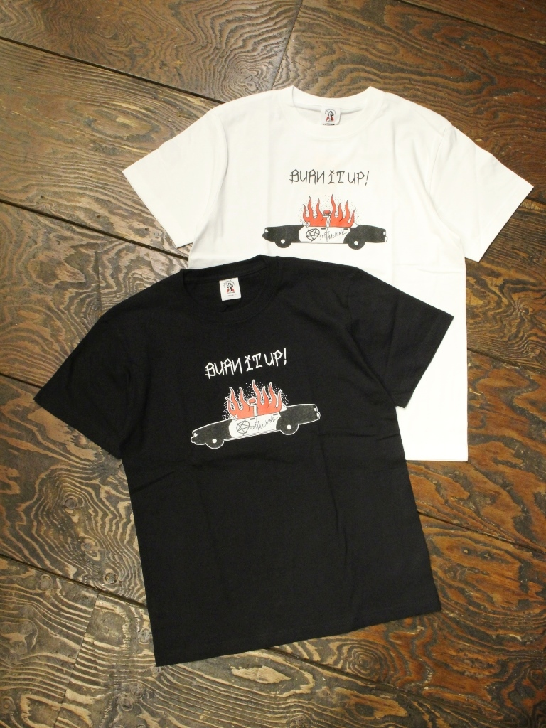 SOFTMACHINE  「BURN UP-T」 プリントティーシャツ