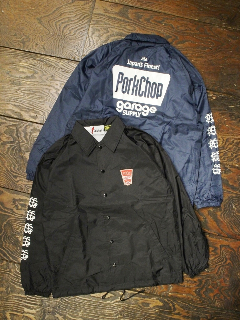 PORKCHOP GARAGE SUPPLY   「FINEST COACH JKT 」  コーチジャケット