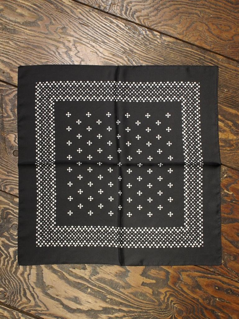 COOTIE   「 CC-Bandana (Silk) 」  シルク製バンダナ