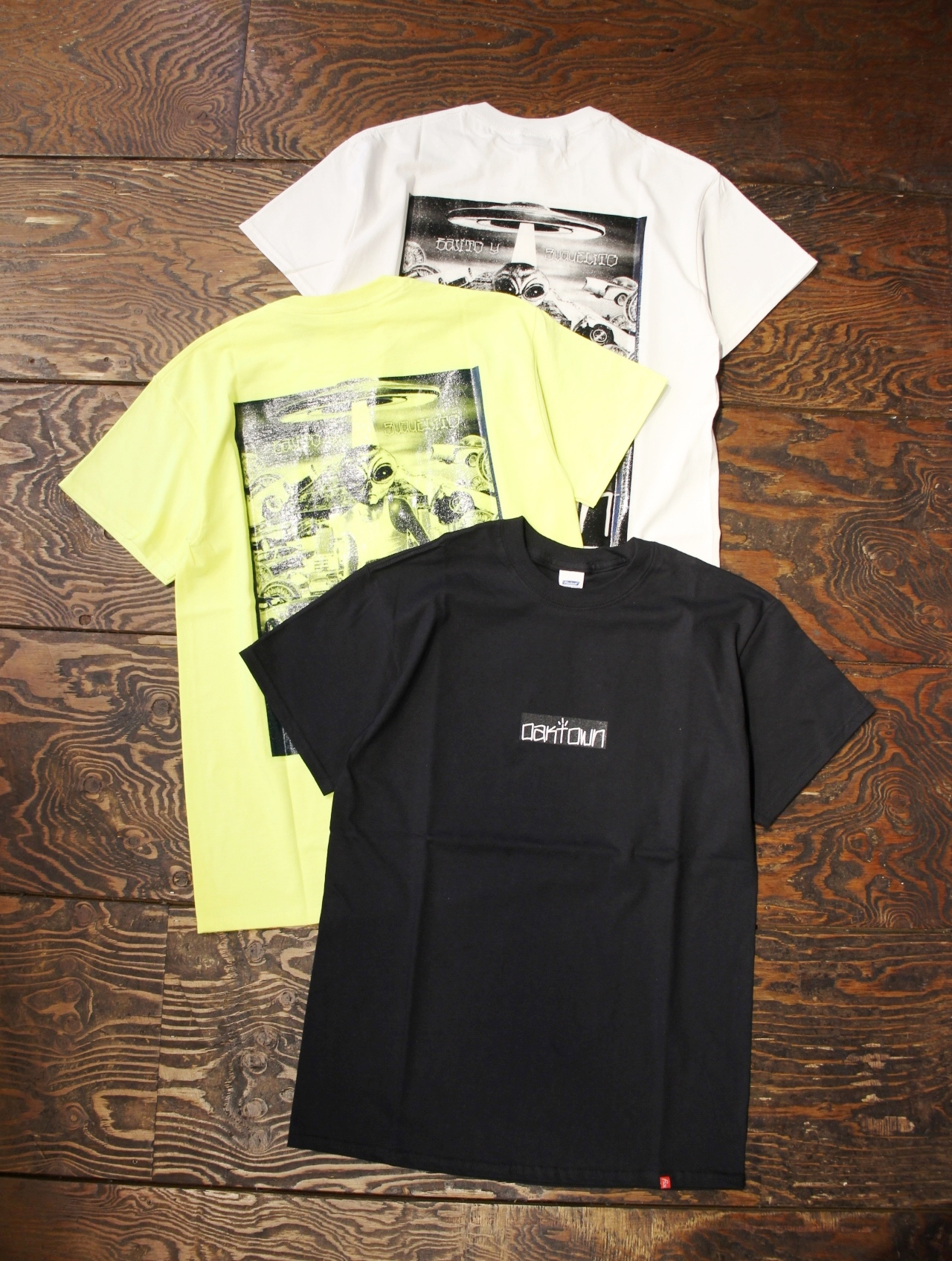 RADIALL    「LOWRIDER PAUL - CREW NECK T-SHIRT S/S」 プリントティーシャツ