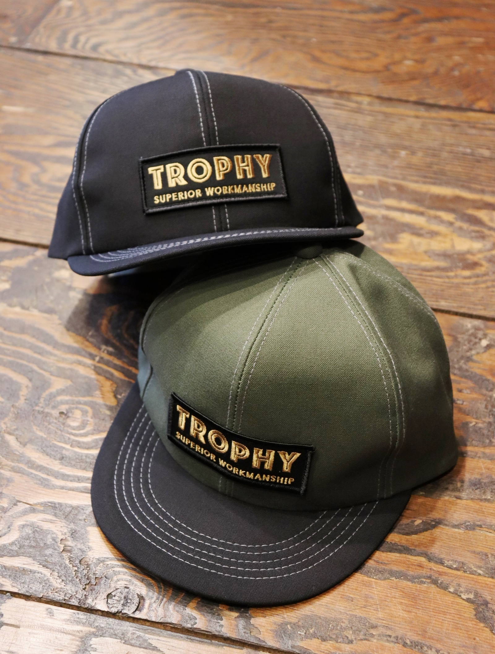 "TROPHY CLOTHING  「 ""Superior Logo"" Tracker Cap 」  トラッカーキャップ"