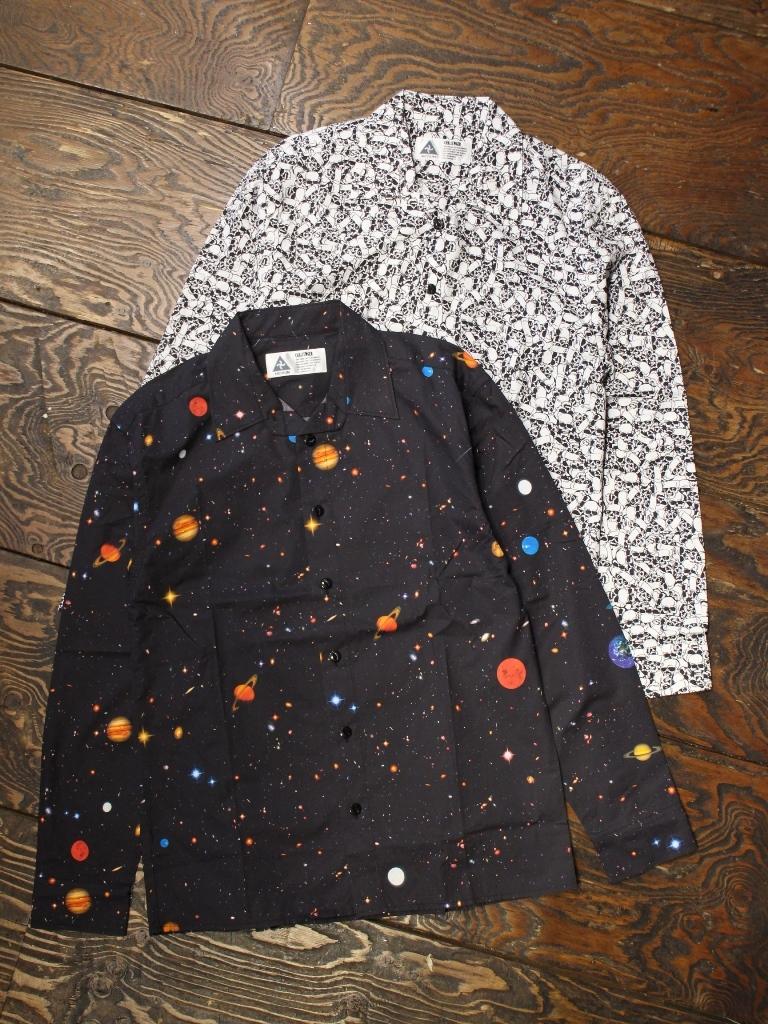 CHALLENGER   「PRINTED L/S SHIRT」 レギュラーカラーシャツ