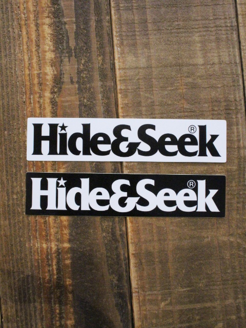 HIDEANDSEEK  「H&S Sticker」 ステッカー