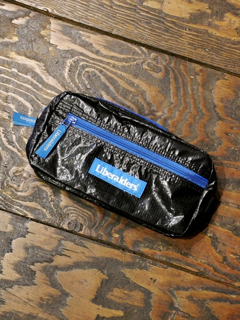Liberaiders  「TRAVELIN' ZIP POUCH」  ポーチ