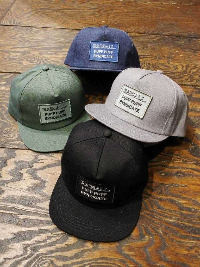 RADIALL  「SYNDICATE - TRUCKER CAP」 トラッカーキャップ