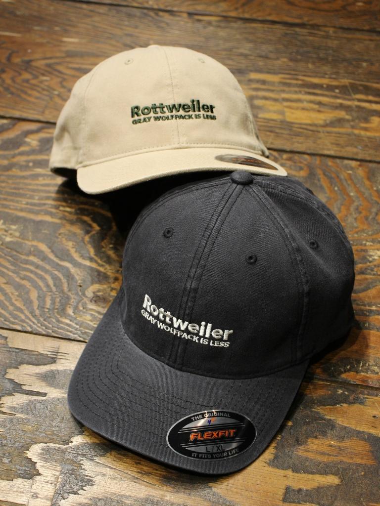 ROTTWEILER  「 DAD R.W CAP  」  6パネルキャップ