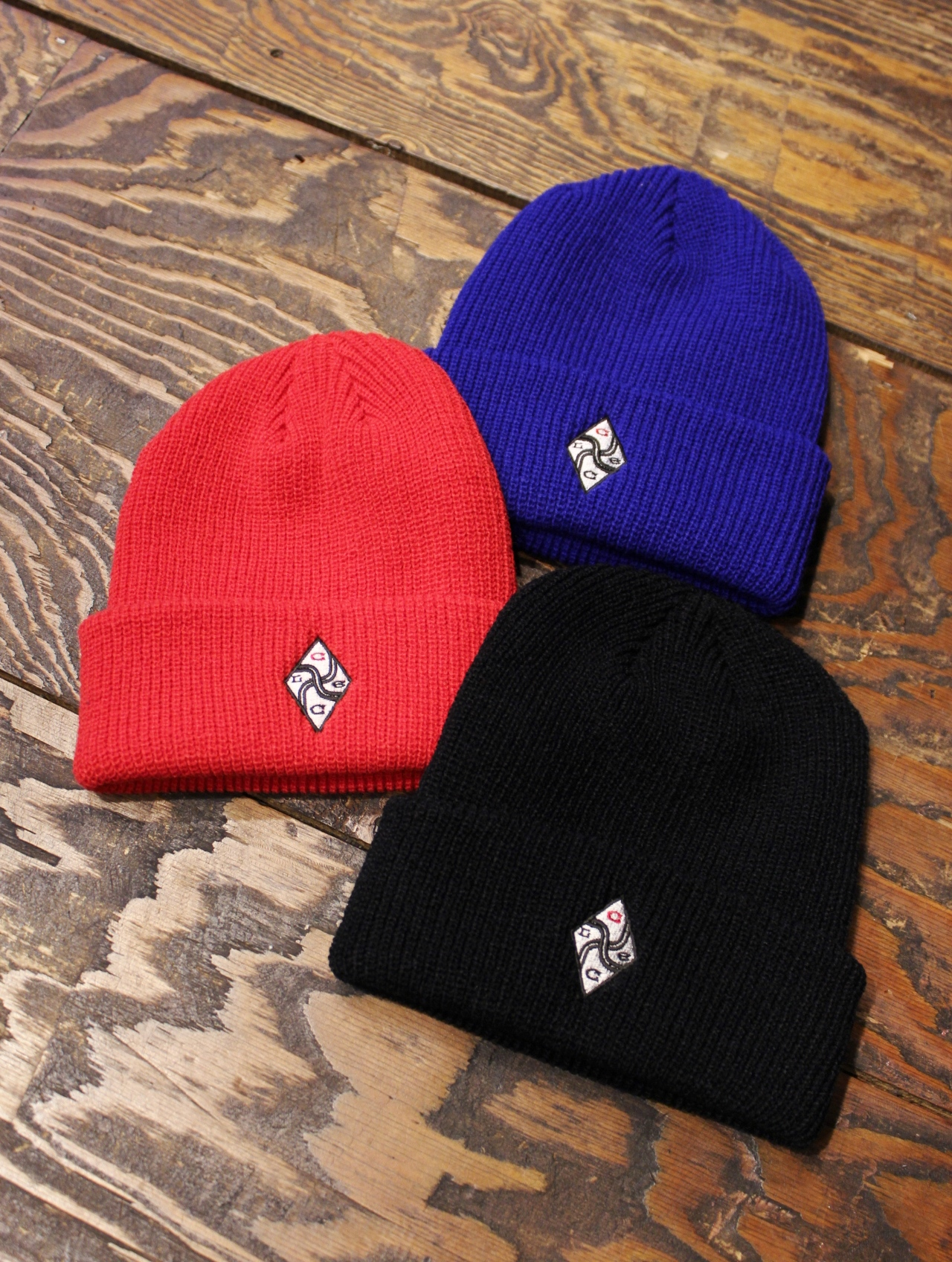 CHALLENGER   「EMBROIDERED KNIT CAP」 ニットキャップ