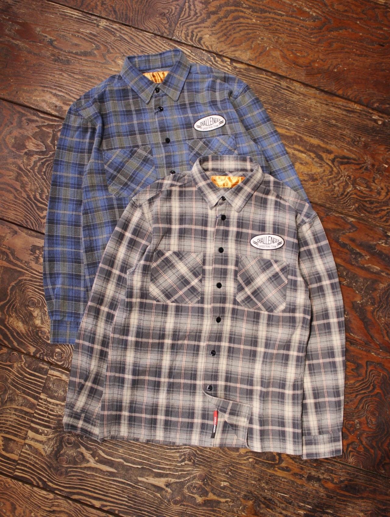 CHALLENGER   「ORIGINAL CHECK NEL SHIRT」 チェックネルシャツ
