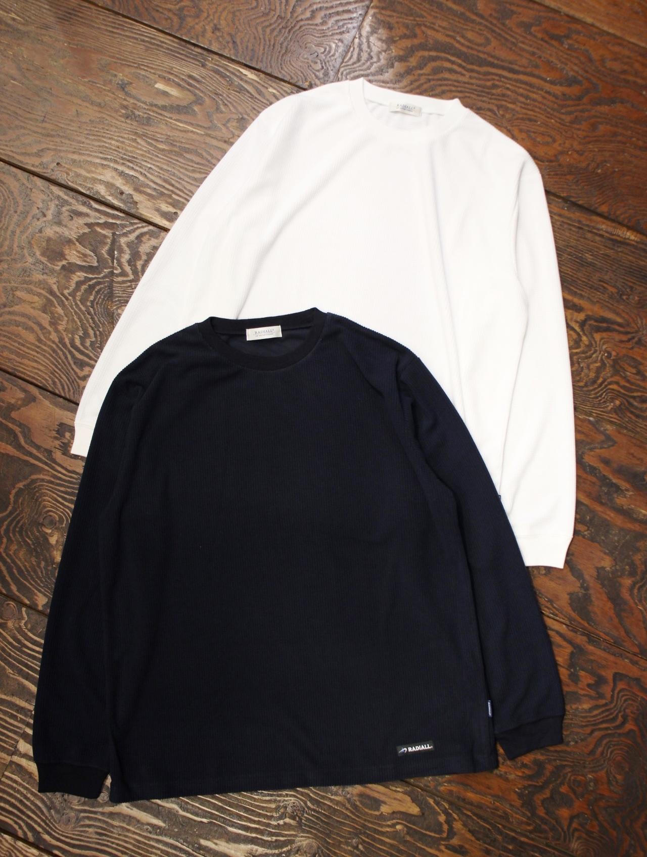 RADIALL  「GRID - CREW NECK T-SHIRT L/S」  ロングスリーブティーシャツ