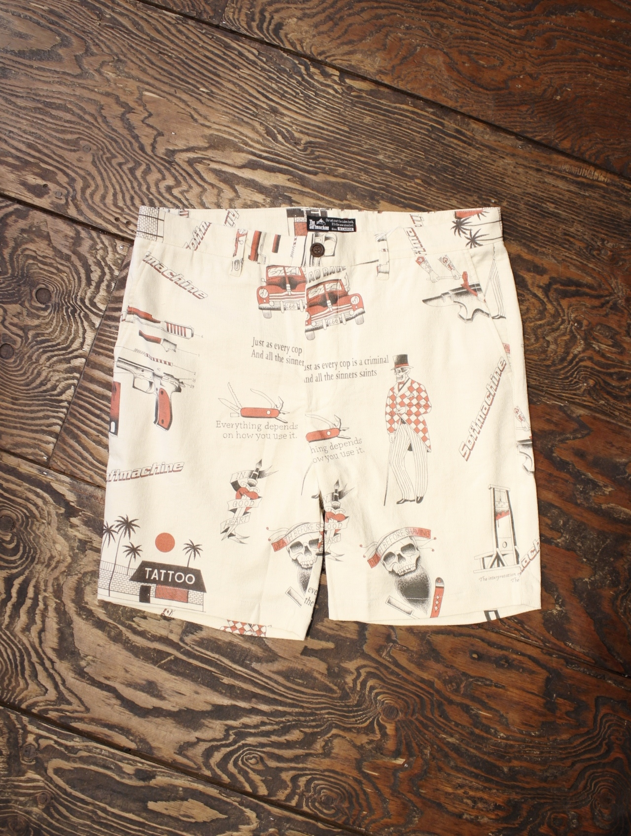 SOFTMACHINE  「TOOLS SHORTS」  コットンショーツ