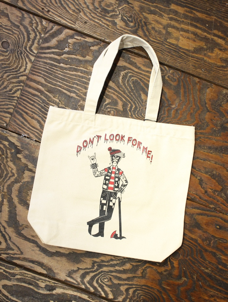SOFTMACHINE  「WORRY TOTE」 トートバッグ