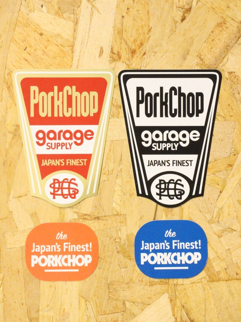 PORKCHOP GARAGE SUPPLY   「 FINEST STICKER SET 」  ステッカーセット