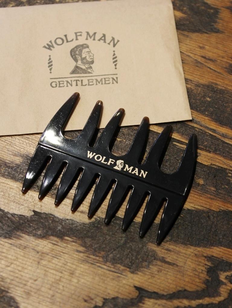 GLAD HAND  「WOLFMAN - WAVE COMB」  コーム