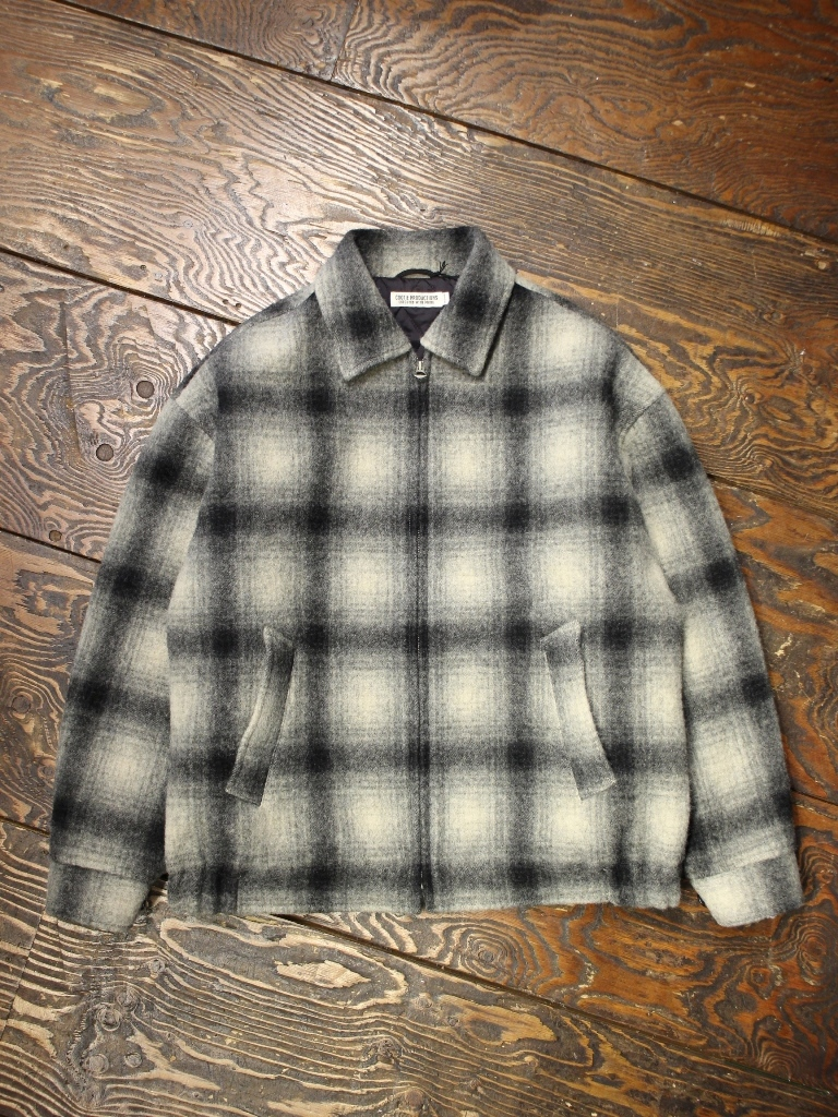 COOTIE  「 Napping Ombre Check Sports Jacket 」 ウールスポーツジャケット