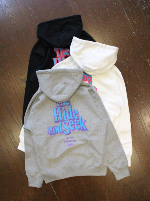 HIDEANDSEEK 「The H&S Hooded Shirt」 プルオーバーパーカー