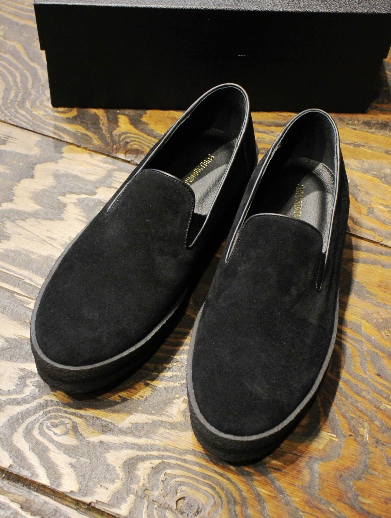 COOTIE   「 Raza Shoes (Vibram) 」 スウェードスリッポン