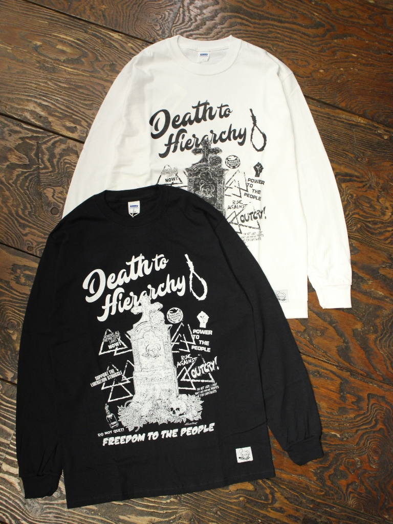 RADIALL × POSSESSED SHOE.CO  「WIREPULLER - CREW NECK T-SHIRT L/S」  プリントロンティー