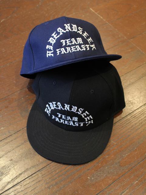 HIDEANDSEEK 「Team Far East OX CAP」 ワークキャップ