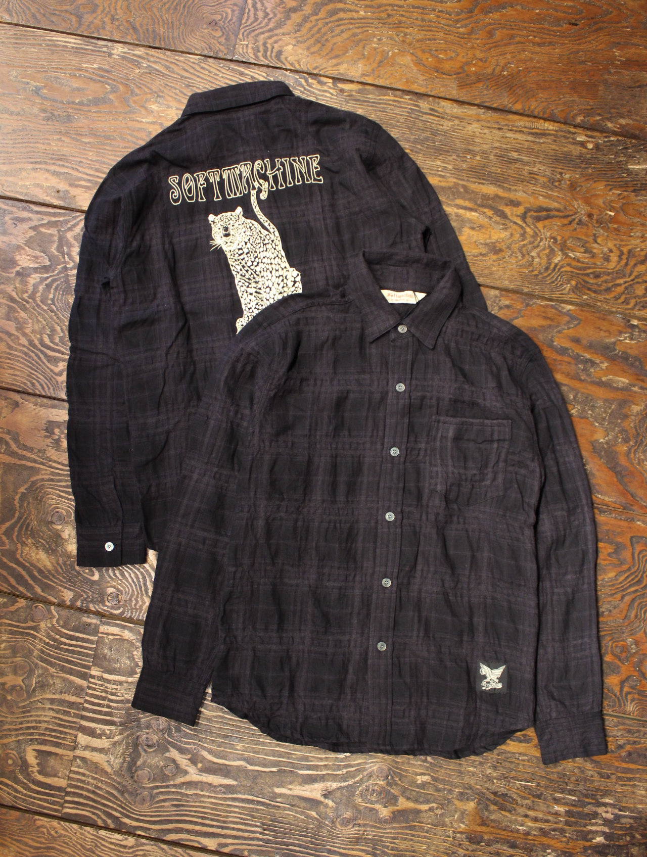 SOFTMACHINE  「KNOWLEDGE SHIRTS L/S」 チェックシャツ