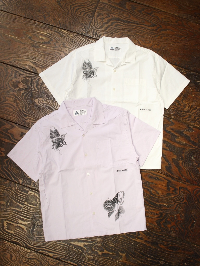 CHALLENGER    「GOLD FISH SHIRT」 オープンカラーシャツ