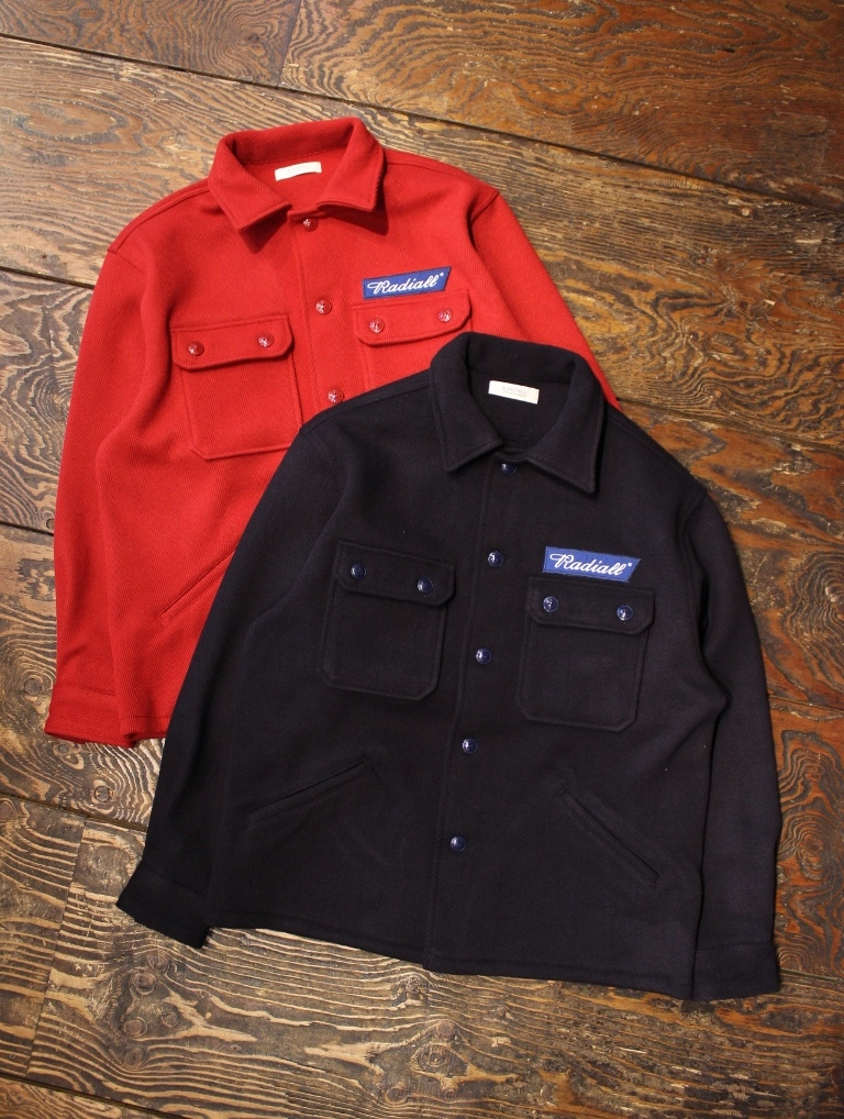 RADIALL  「FLAG TOWN - REGULAR COLLARED SHIRT L/S」  CPOシャツ