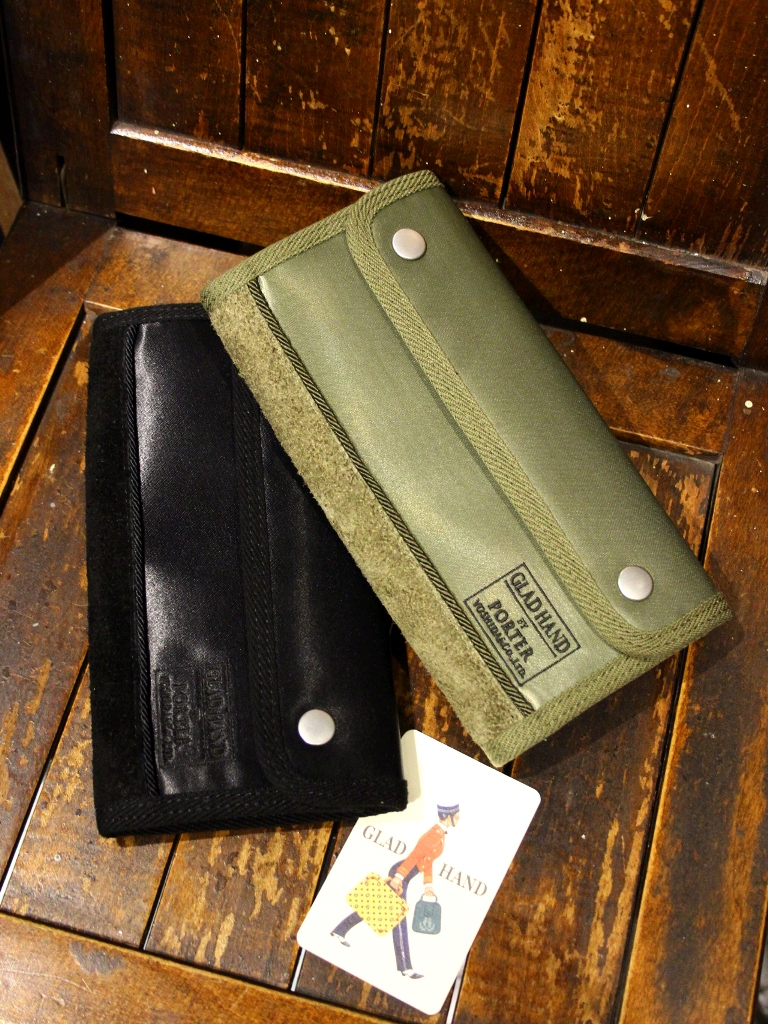 PORTER × GLAD HAND  「GH - FADE WALLET 〈LONG〉」  ナイロンウォレット
