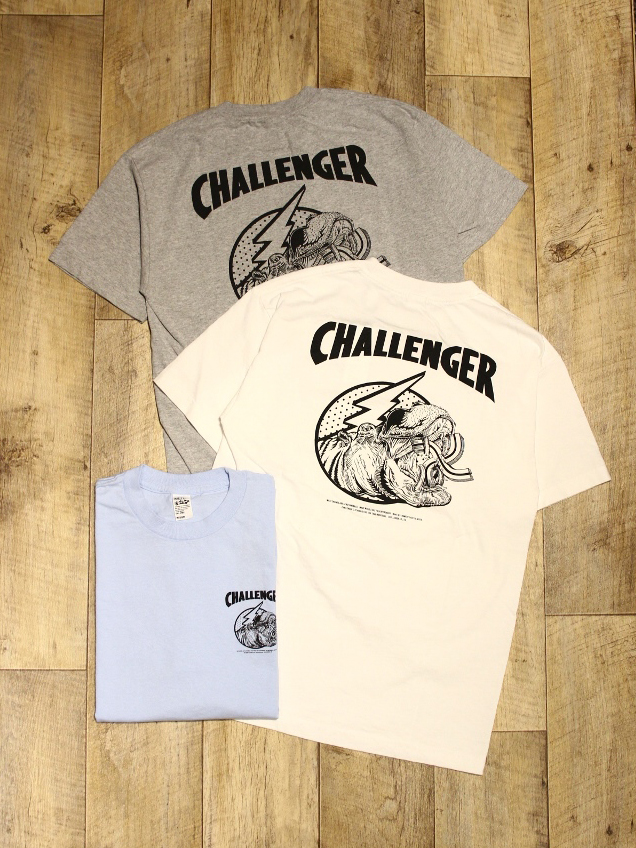 CHALLENGER  「HIPPOPOTAMUS  TEE」 プリントティーシャツ