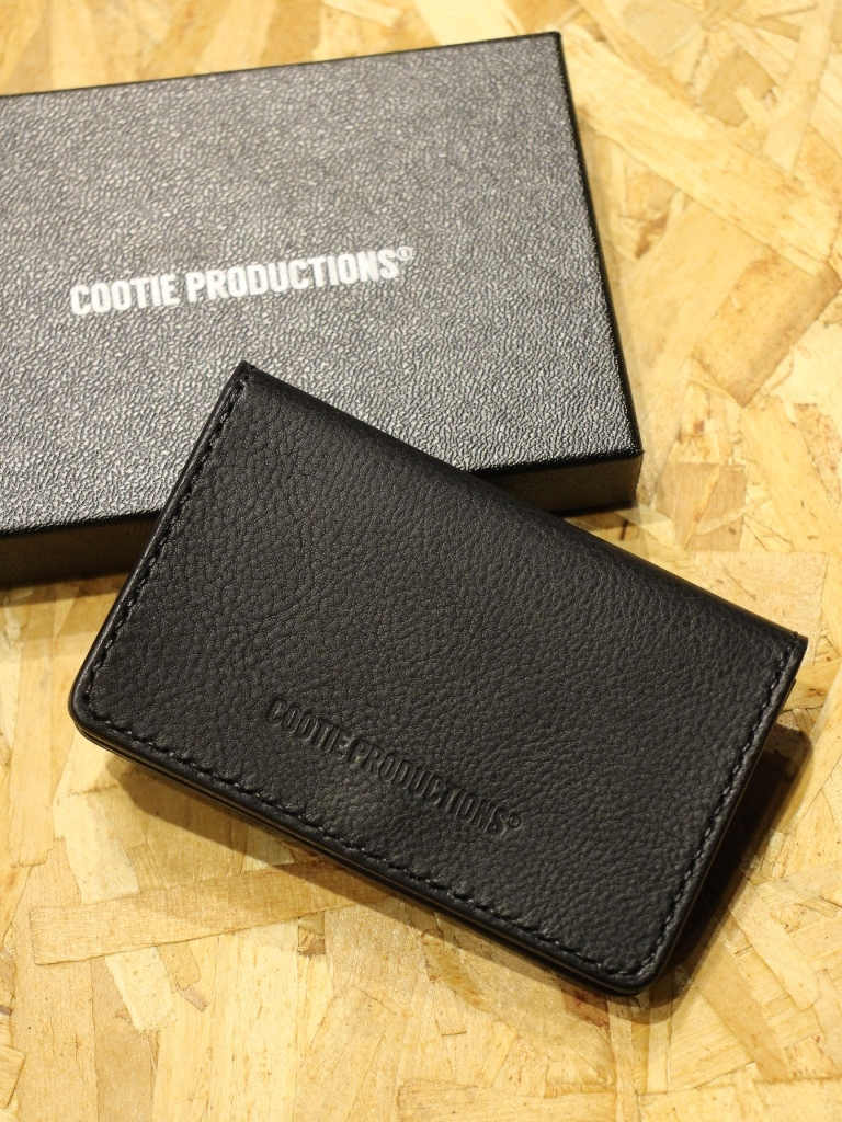 COOTIE   「Leather Card Case」  レザーカードケース