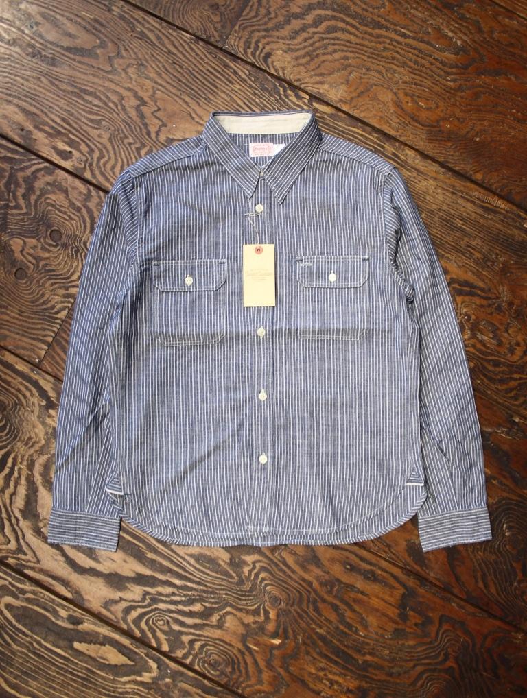 TROPHY CLOTHING  「Harvest Shirts」  シャンブレーシャツ