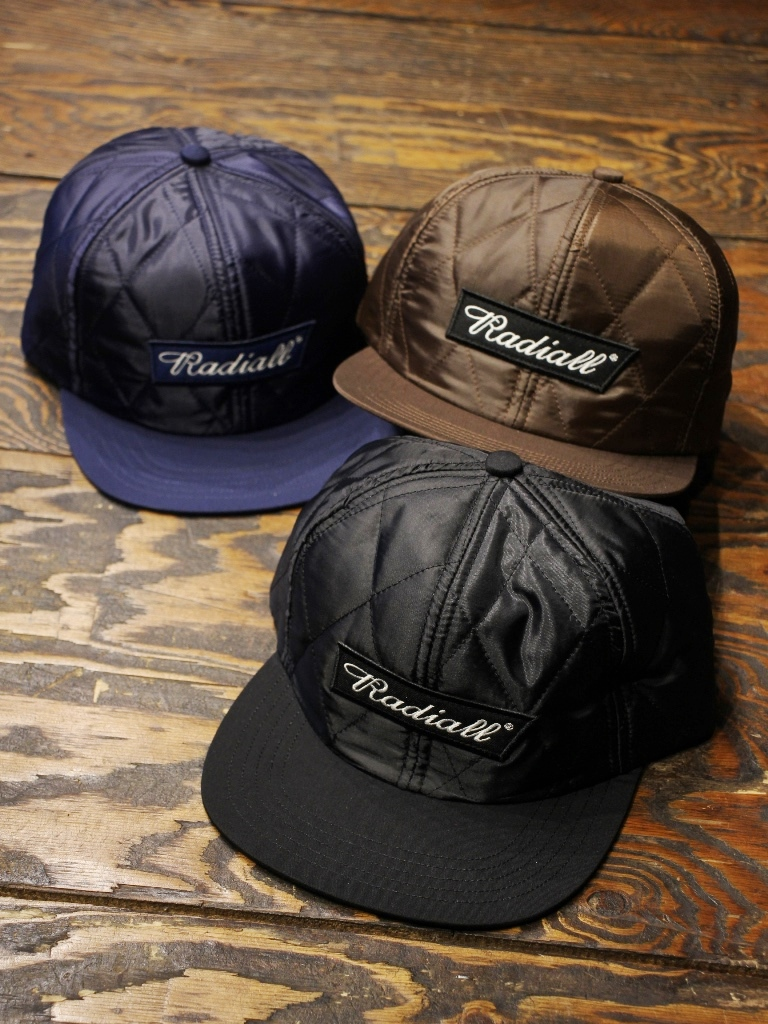 RADIALL  「FLAGS - QUILTED BASEBALL CAP」 ベースボールキャップ