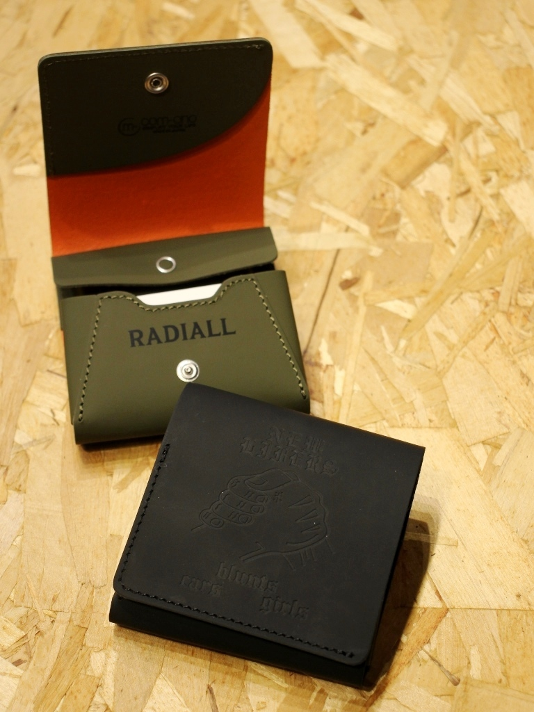 RADIALL    「PACHUCO - FOLDED WALLET」  レザーハーフウォレット