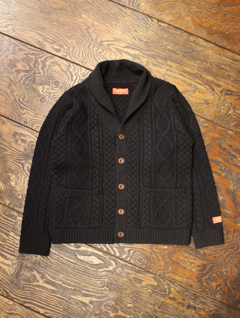 SOFTMACHINE  「TERENCE CARDIGAN」  ショールカーディガン