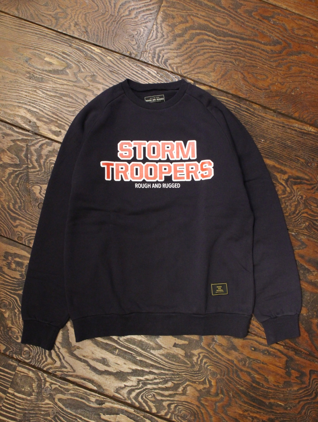 ROUGH AND RUGGED  「CHAMP CREW-02 (STORM TROOPERS)」  クルーネックスウェット